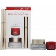Clarins Perfect Eyes Extra Firming Set de Regalo 15ml Crema Suavizante Arrugas Extra Afirmante Ojos + 7ml Rímel Wonder Perfect + 4ml Toque Perfecto Suavidad Instantánea