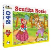 Puzzle Scufita Rosie - Colectia Povesti, 240 piese