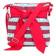 Pick Pocket Girls Sling Bag (Red) (SlredBOW131)