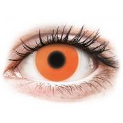 Maxvue Vision ColourVUE Crazy Glow - nedioptrické (2 čočky) Orange