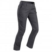 Forclaz Pantalon de trek voyage - TRAVEL 100 gris femme - Forclaz