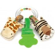 Teddykompaniet Diinglisar Wild Ringskallra Giraff/Tiger