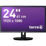 Terra LED monitor Terra LED 2435W HA, 61 cm (24 palec),1920 x 1080 px 5 ms, TN LED Audio-Line-in , DisplayPort, HDMI™, VGA