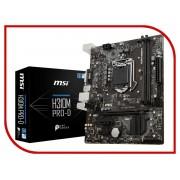 Материнская плата MSI H310M PRO-D
