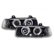 FK-Automotive fari Angel Eyes BMW 3er E36 berlina anno di costr. 92-98 neri