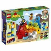 Lego Klocki LEGO Duplo Goście z planety DUPLO u Emmeta i Lucy (10895)
