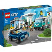 LEGO City turbo wheels benzinestation 60257