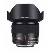Samyang 14mm F2.8 ED AS IF UMC MILC Ultraweitwinkelobjektiv Schwarz