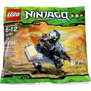 LEGO Ninjago Mini Figure Set #30087 Cole ZXs Car Bagged