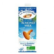 Lapte de Migdale Bio fara Zahar La Mandorle 1L