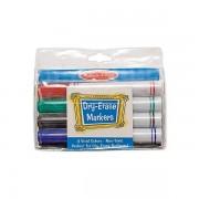 Set 4 markere colorate lavabile