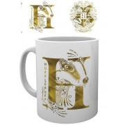 GYE Harry Potter - Hufflepuff Monogram Mug