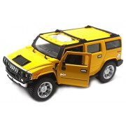 Fusine™ 2008 Hummer H2 SUV 1:40 Scale Diecast Car (Yellow)