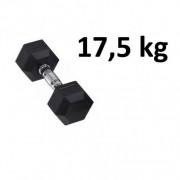 Master Fitness Gummi / Kromhantel HEX Master Fitness 17,5 kg