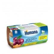 Humana Italia Spa Humana Omogeneizzato Biologico Prugna 2x100 g