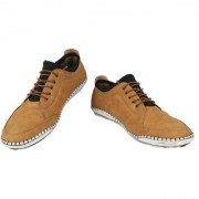 Yellow Tree Good Quality Casual Shoes Designer Tan Color Shoes For Mens Boys ( 47185 )