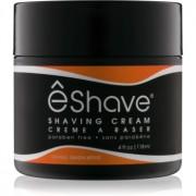 eShave Orange Sandalwood cremă pentru bărbierit 118 g