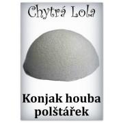 Chytrá Lola - Konjak houba polštářek - přírodní bílá (KH02)
