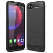 Husa TECH-PROTECT TPUCARBON HTC Desire 12 Black