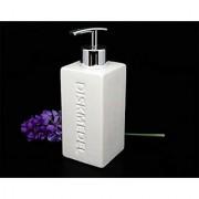 High Grade Ceramic Liquid Soap Dispenser (WhiteColor-1 Pc)