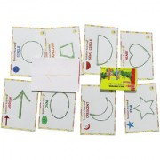 Boredom Busters Busy Bags Educational DIY toys for kids Crayon Rubbing for Age 2.5 years above