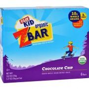Clif Kid Zbar - Organic - Chocolate Chip - 7.62 oz - Case of 12