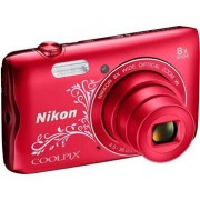 Nikon Coolpix A300 - Red Lineart
