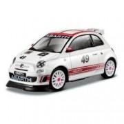 Macheta auto Abarth 500 Assetto Corse - alb