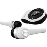 Noisehush Bluetooth Dongle Hands-Free Calling & A2DP Audio Streaming Adapter/Receiver Includes Matching Earbuds