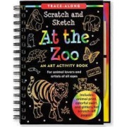At the Zoo An Art Activity Book for Animal Lovers and Artists of All Ages With Wooden Stylus