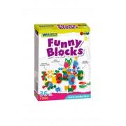WADER Klocki Funny Blocks 1Y36FI
