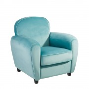 Fotoliu confortabil Kinge albastru