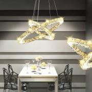 vidaXL Lampa wisząca LED w kształcie podwójnego pierścienia, 23,6 W