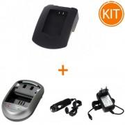 Kit Incarcator Power3000 pentru acumulator Canon tip NB-11L + Bonus adaptor auto