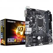 MB, GIGABYTE B365M D2V /Intel B365/ DDR4/ LGA1151