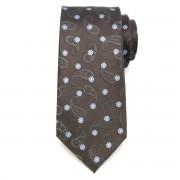 Férfi klasszikus nyakkendő (minta 343) 7158 selyem