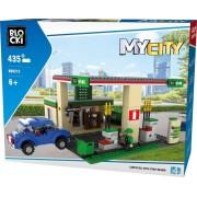 Joc de constructie My City - Benzinarie (435 piese)