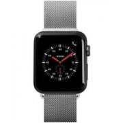 Apple LAUT Steel Loop Apple Watch 44MM / 42MM Bandje Roestvrij Staal Zilver