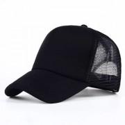 Stylish Cotton Baseball Adjustable Black Cap For Men/Women Cap