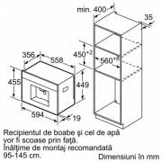 GARANTIE 2 ANI Espressor automat incorporabil Bosch Inox CTL636ES6 Serie 8 cu functie home connect