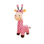 "Judy Dre am Cute Animals Toys Giraffe Doll-Judy Dre am Soft Cartoon Animals Pink Giraffes Toy Stuffed Cotton Plush Children's Dolls Birthday Gift for Kid/Girlfriend 25.6"" Tall"