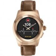 Умные часы MyKronoz ZeTime Premium Regular Rose Gold-Brown