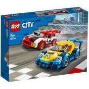 Конструктор Лего Сити - Състезателни коли, LEGO City Nitro Wheels 60256