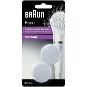 Rezerva perie epilator Braun SE80 Braun Face SE810 si SE830 2 buc Alb