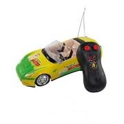 A R Enterprises remote control first leader car,yellow