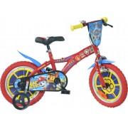 Paw Patrol Cykel 12 tum, Röd