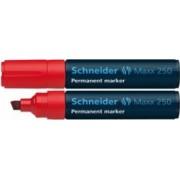 Permanent marker SCHNEIDER Maxx 250 varf tesit 2-7mm Rosu