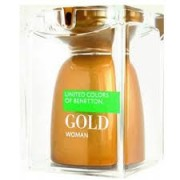 Benetton Gold Woman Eau de Toilette Spray 75ml