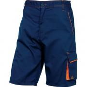 Bermuda da lavoro Delta Plus M6BERBMPT - 401136 abbigliamento da lavoro - blu/arancione - Taglia s - Conf 1 - M6BERBMPT