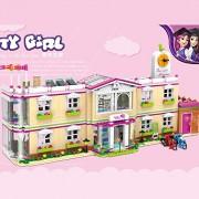 Generic XINGBAO 12001 1750Pcs City Girl Series The Happy Teaching Building Set Building Blocks Bricks Funny Toys for Child Girls 1750Pcs